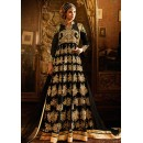 Ethnic Wear Black Georgette Anarkali Suit - 76291