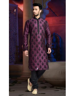 Ready-Made Traditional Fuchsia Kurta & Pajama - 78829