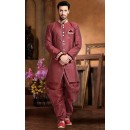 Ready-Made Wedding Wear Pink Indo Western Kurti - 78833