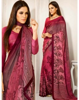 Designer Party Wear Maroon Saree-RKAM8040(FH-RKAM)
