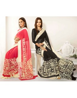 Designer Party Wear Saree-RKAM8001 & 8002(FH-RKAM)