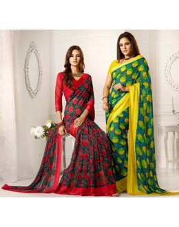 Designer Party Wear Saree-RKAM8003 & 8004(FH-RKAM)
