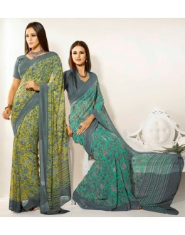 Designer Party Wear Saree-RKAM8005 & 8006(FH-RKAM)