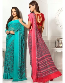 Designer Party Wear Saree-RKAM8017 & 8018(FH-RKAM)