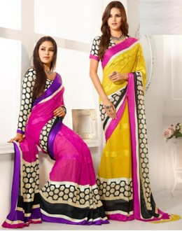 Designer Party Wear Saree-RKAM8019 & 8020(FH-RKAM)