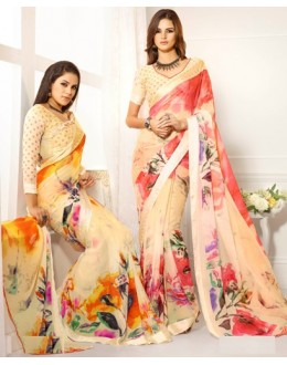 Designer Party Wear Saree-RKAM8032 & 8033(FH-RKAM)