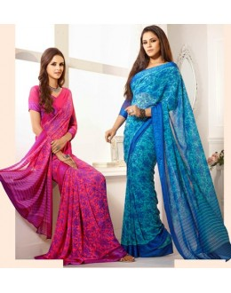 Designer Party Wear Saree-RKAM8036 & 8037(FH-RKAM)