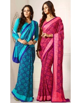 Designer Party Wear Saree-RKAM8038 & 8039(FH-RKAM)