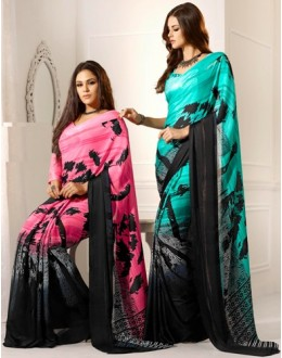 Designer Party Wear Saree-RKAM8042 & 8043(FH-RKAM)