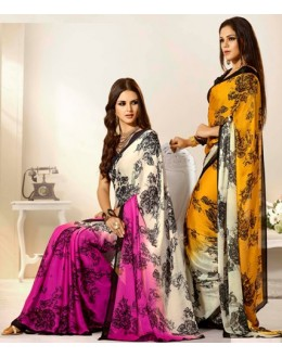 Designer Party Wear Saree-RKAM8044 & 8045(FH-RKAM)
