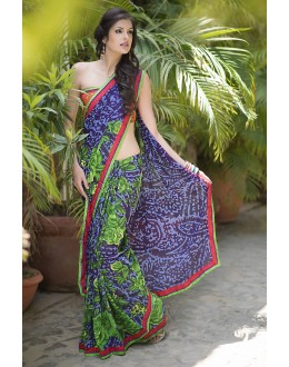 Designer Party Wear Purple Saree-RKRO1147(FH-RKRO)