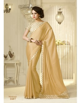 Designer Golden Embroidered Chiffon Saree - RKVAS1607 ( FH-RKVAS1601 )