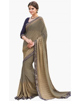 Casual Wear Multicolour Georgette Saree  - RKLP4299