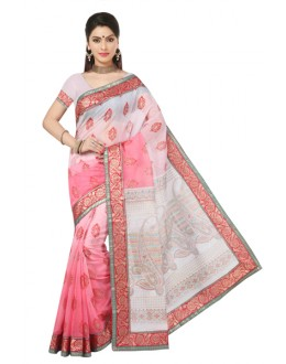 Casual Wear Multicolour Saree  - RKMF1267