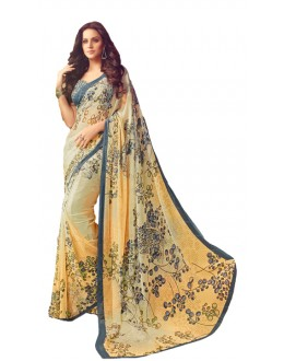 Casual Wear Multicolour Saree  - RKSARD425