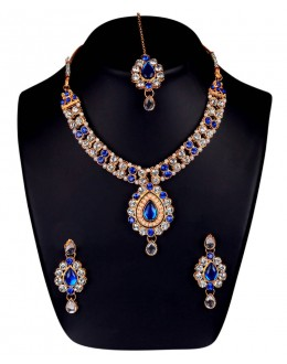 Designer Traditional Necklace Set - ms001( MSTYLIST-9095 - MISS )