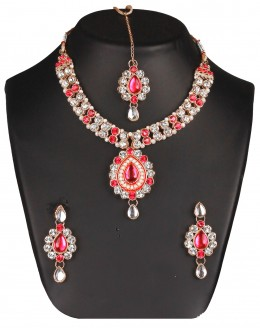 Designer Traditional Necklace Set - ms003 ( MSTYLIST-9095 - MISS )