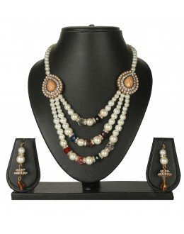 Designer Traditional Necklace Set - ms010 ( MSTYLIST-9095 - MISS )