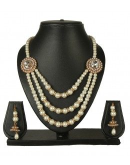 Designer Traditional Necklace Set - ms011 ( MSTYLIST-9095 - MISS )