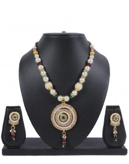 Designer Traditional Necklace Set - ms012 ( MSTYLIST-9095 - MISS )