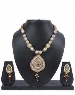 Designer Traditional Necklace Set - ms013 ( MSTYLIST-9095 - MISS )