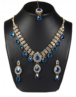 Designer Traditional Necklace Set - ms018 ( MSTYLIST-9095 - MISS )