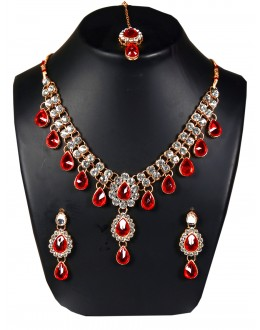 Designer Traditional Necklace Set - ms019 ( MSTYLIST-9095 - MISS )