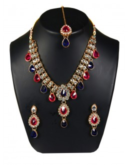 Designer Traditional Necklace Set - ms021 ( MSTYLIST-9095 - MISS )