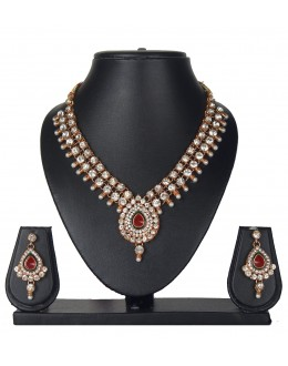 Designer Traditional Necklace Set - ms026 ( MSTYLIST-9095 - MISS )