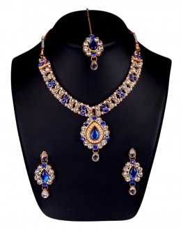 Designer Traditional Necklace Set - ms027 ( MSTYLIST-9095 - MISS )