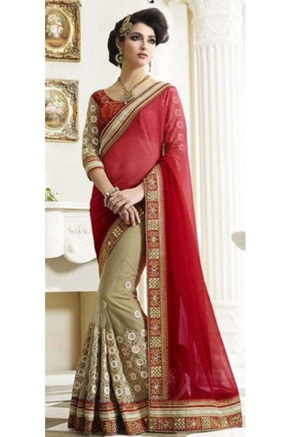 Bollywood Replica -  Designer Multicolour Saree - 3009