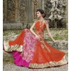 Diwali Special Orange Floor Length Net Embroidered Anarkali Suit-3507(MJ-VIPUL)