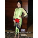 Bollywood Replica-Designer Green Silk Kurti Style Salwar Suit - 1073