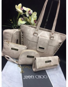 Jimmy Choo 5 Piece Combo High Quality Handbags - JC01