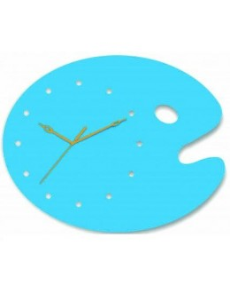 Acrylic Wall Clocks -Color palette Clock GLAC082