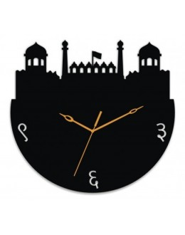 Acrylic Wall Clocks - Red Fort Style GLAC053