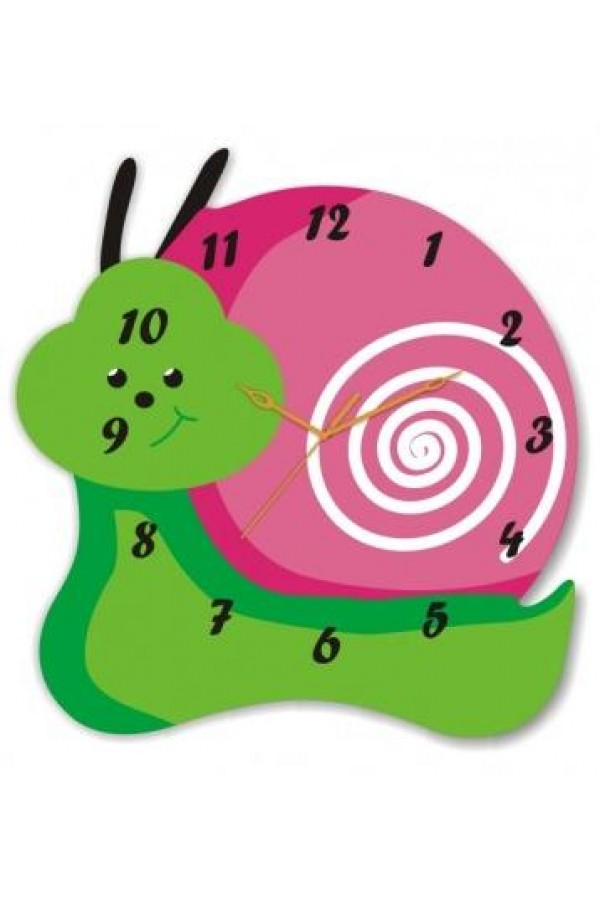 Acrylic Wall Clocks - Snail Clock GLAC068