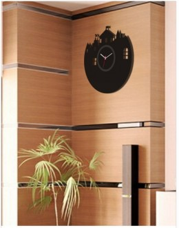 Acrylic Wall Clocks - Fort Style GLAC013