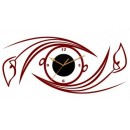 Decal Style - Abstract eye Clock GLCS055