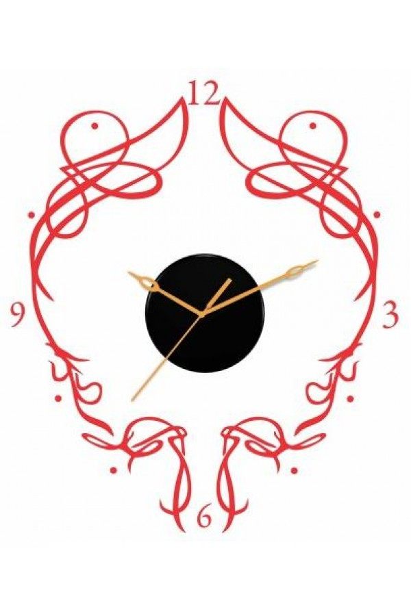 Decal Style - Abstract eye Clock GLCS056