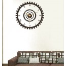 Decal Style - Clock Wheel Wall Clock GLCS027