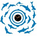 Decal Style - Fish Round the Clock GLCS067