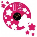 Decal Style - Pink Flower GLCS059