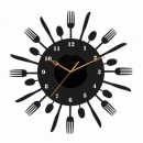 Decal Style - Spoons ClockGLCS046