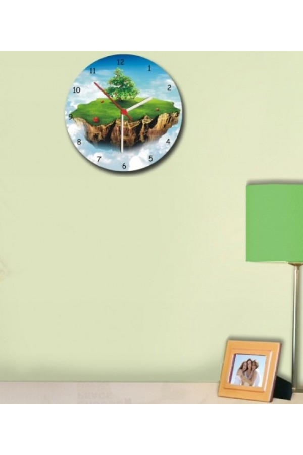 Wooden Wall Clock - Adam Apple Tree GLWD021