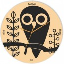 Wooden Wall Clock - Cute Bird Style GLWD046