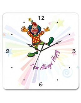Wooden Wall Clock - Joker GLWD085