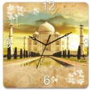 Wooden Wall Clock - Tajmahal GLWD058