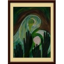 Wall Painting Of Abstract Art - GDCPVL0021
