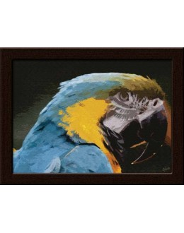 Wall Painting Of Colorful Parrot - GDCPGL0042